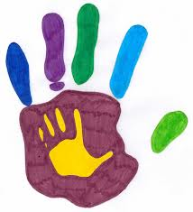 youth handprint